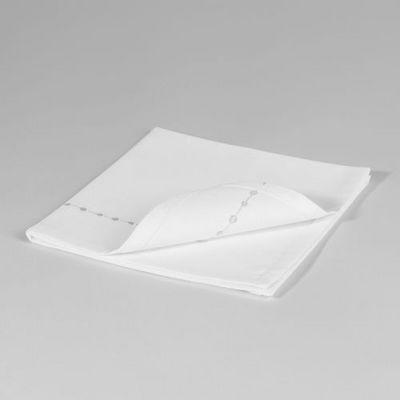 Maisons du monde - Serviette de table-Maisons du monde-Serviette Myriade blanche