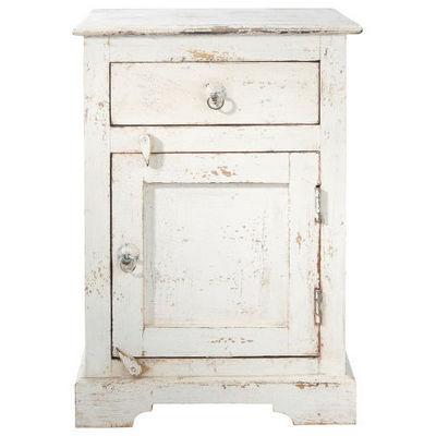 Maisons du monde - Table de chevet-Maisons du monde-Chevet blanc Avignon