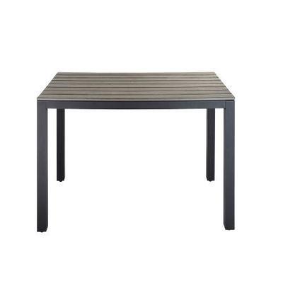 MAISONS DU MONDE - Table de repas carrée-MAISONS DU MONDE-Table à diner carrée Escale