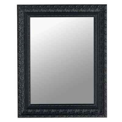 Maisons du monde - Miroir-Maisons du monde-Miroir Marquise noir 76x96