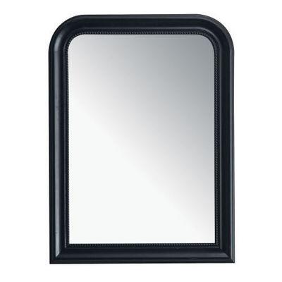 Maisons du monde - Miroir-Maisons du monde-Miroir Louis noir 60x80