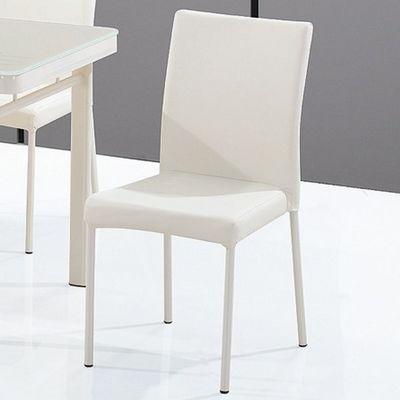 CLEAR SEAT - Chaise visiteur-CLEAR SEAT-Chaise Luna Blanc Crème