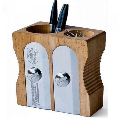 Manta Design - Pot à crayons-Manta Design-Pot à crayons Taille-crayons double