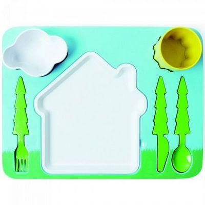 Manta Design - Assiette Enfant-Manta Design-Plateau design pour enfants Kidymiam