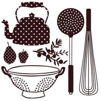 ART STICKER - Gommettes-ART STICKER-Sticker vaisselle et accessoires de cuisine