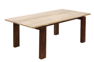 Marbrerie Rouillon - Table de repas rectangulaire-Marbrerie Rouillon-JAVA