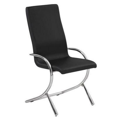 CLEAR SEAT - Chaise-CLEAR SEAT-Chaises Boreal Noires Lot de 6