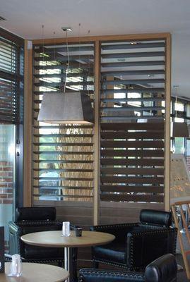 DECO SHUTTERS - Panneau pare-vue-DECO SHUTTERS-Shutters montés en panneau pare-vue