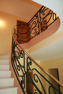 FERRONNERIE VAUZELLE - Rampe d'escalier-FERRONNERIE VAUZELLE