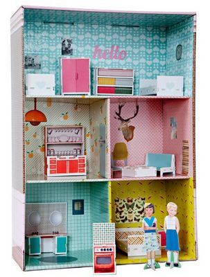 TIPHAINE VERDIER MANGAN - Maison de poupée-TIPHAINE VERDIER MANGAN