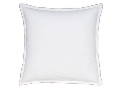 BLANC CERISE - Taie d'oreiller-BLANC CERISE-Taie d'oreiller carrée à volant - percale (80 fil