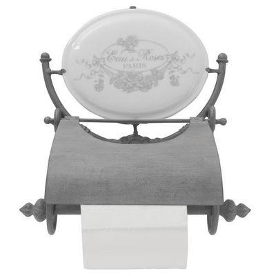 Mathilde M - Distributeur papier toilette-Mathilde M-D�rouleur papier toilette Eau de roses