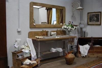 BLEU PROVENCE - Meuble de salle de bains-BLEU PROVENCE-Romarin