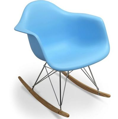 WHITE LABEL - Rocking chair-WHITE LABEL-Rocking chair Inspiration Eames