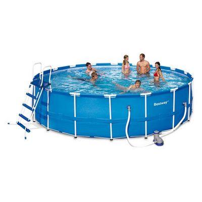 Bestway - Piscine hors-sol autoportante-Bestway-Piscine Frame Pool Set - 549 x 122 cm