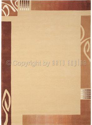 Arte Espina - Tapis contemporain-Arte Espina-Tapis de salon EASY GOING 3 beige 140x200 en Acryl