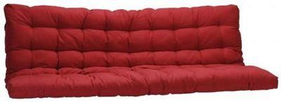Futon Design - Matelas banquette BZ-Futon Design-Matelas FUTON 135 x 190 cm - Rouge Dos enveloppant