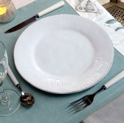Interior's - Assiette plate-Interior's-vendue par 4
