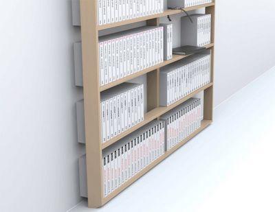 MALHERBE EDITION - Bibliothèque sur mesure-MALHERBE EDITION-Bibliothèque Wall Book