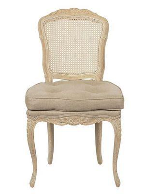 BLANC D'IVOIRE - Chaise-BLANC D'IVOIRE-FELICIE