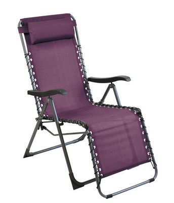 PROLOISIRS - Chaise longue de jardin-PROLOISIRS-Fauteuil de jardin relax Néo