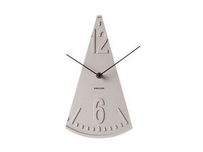 Karlsson Clocks - Horloge murale-Karlsson Clocks-Horloge balance grise à poser 16x28,5cm