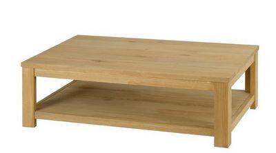ZAGO - Table basse rectangulaire-ZAGO-Table basse côme en chêne massif 115x65x35cm