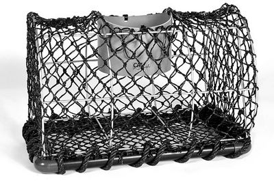 ADSEA NIEVRE - Panier de p�cheur-ADSEA NIEVRE-Casier � crustac�s en acier galvanis� petit mod�le