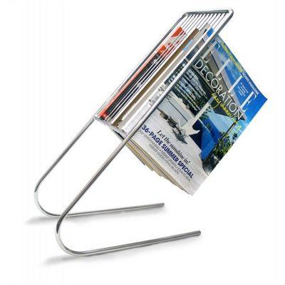 J-Me - Porte-revues-J-Me-Porte magazines Flottant Chrome