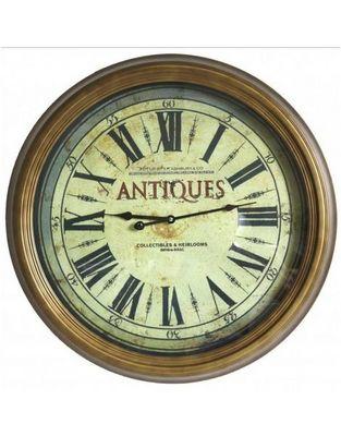 L'HERITIER DU TEMPS - Horloge murale-L'HERITIER DU TEMPS-Grande Horloge Murale Antiques Ø 62cm