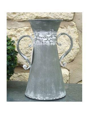 L'HERITIER DU TEMPS - Pichet-L'HERITIER DU TEMPS-Cruche en fer gris antique