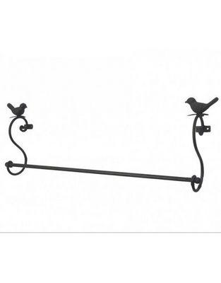 L'HERITIER DU TEMPS - Porte-serviettes-L'HERITIER DU TEMPS-Porte Serviette Mural Oiseaux