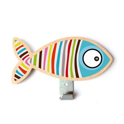 SERIE GOLO - Patère-SERIE GOLO-Patère poisson rayé