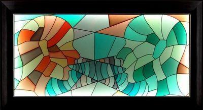 LIGHT MY ART - Tableau contemporain-LIGHT MY ART-« Conversation » © par Salma