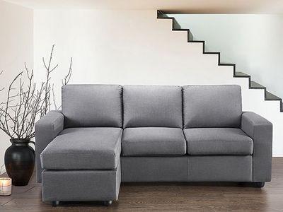 BELIANI - Canapé modulable-BELIANI-Sofa simple