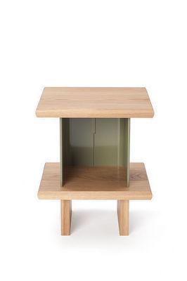 LAURENT BOSQUE MOBILIERS CONCEPT - Table de chevet-LAURENT BOSQUE MOBILIERS CONCEPT-GSC 25 Chêne