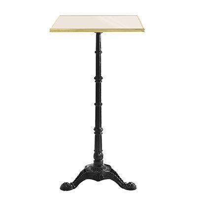 Ardamez - Mange debout-Ardamez-Mange debout �maill� / table haute / ivoire