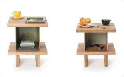 LAURENT BOSQUE MOBILIERS CONCEPT - Table de chevet-LAURENT BOSQUE MOBILIERS CONCEPT-Collection C.30