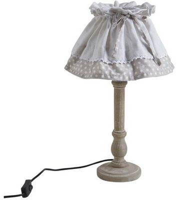 Aubry-Gaspard - Lampe à poser-Aubry-Gaspard-Lampe bois et metal