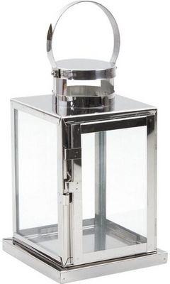 Aubry-Gaspard - Lanterne d'extérieur-Aubry-Gaspard-Lanterne de jardin métal brossé