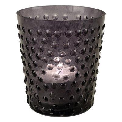 Interior's - Photophore-Interior's-Photophore gris en verre Pois & Compagnie