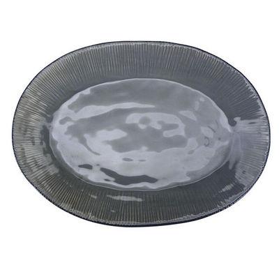 Interior's - Plat ovale-Interior's-Plat gris