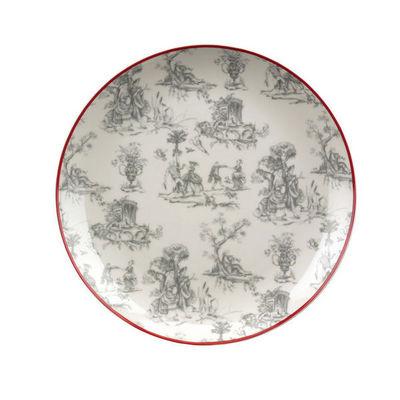Interior's - Assiette plate-Interior's-Assiette plate Toile de Jouy
