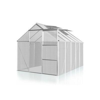 WHITE LABEL - Serre-WHITE LABEL-Serre polycarbonate 250 x 270 cm 6,7 m2