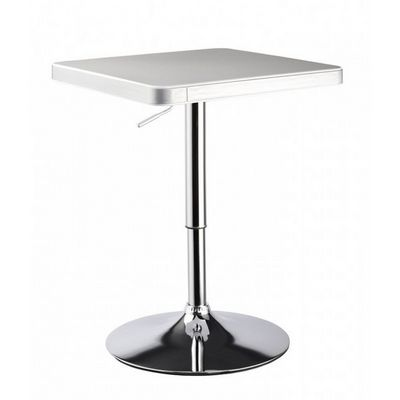 WHITE LABEL - Mange debout-WHITE LABEL-Table de bar bistrot hauteur réglable