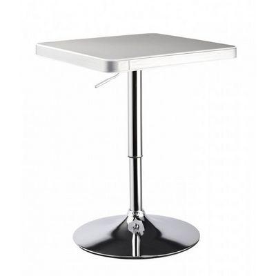 WHITE LABEL - Mange debout-WHITE LABEL-Table de bar bistrot hauteur réglable