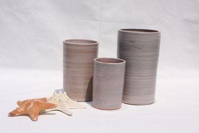 Les Poteries Clair de Terre - Vase à fleurs-Les Poteries Clair de Terre-Tamarin