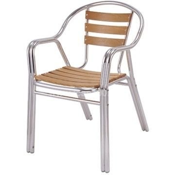 Mathi Design - Chaise-Mathi Design-Chaise alu et bois