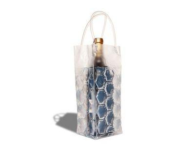 WHITE LABEL - Rafraîchisseur à bouteille-WHITE LABEL-Sac réfrigérant - refroidisseur de boisson bleu de