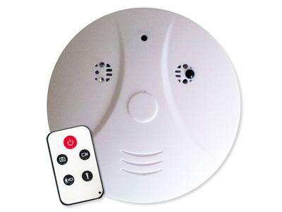 WHITE LABEL - Camera de surveillance-WHITE LABEL-Détecteur de fumée factice détecteur de mouvement